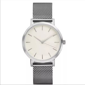Minimalist Stainless Steel Slim Trendy Watch